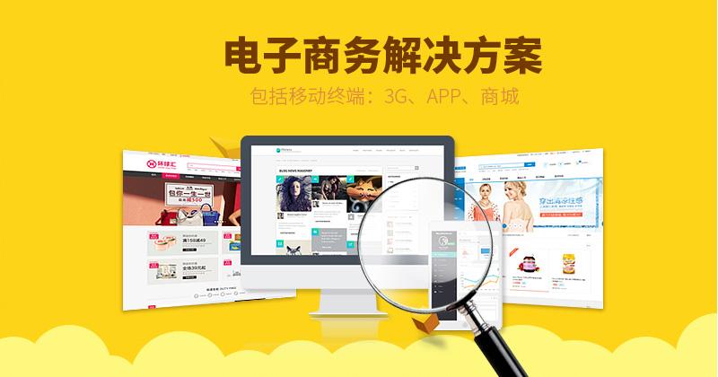 电子商务网站建设整体解决方案